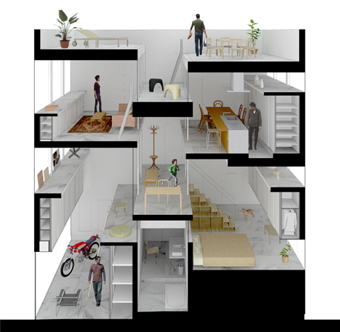 Amida house kochi architect 39 s studio for Amida house istanbul
